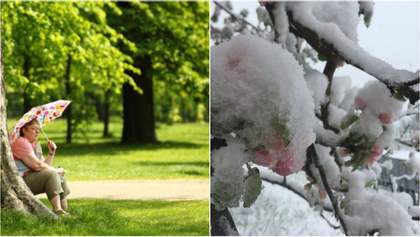 Одного дня спека, іншого – сніг: синоптики здивували прогнозом погоди на наступний тиждень
