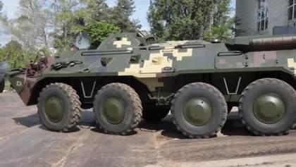 Техніка війни: Нова партія потужних танків БТР-80. Затримання російського шпигуна в Україні