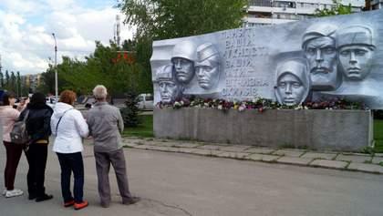 По двоє і в масках: як вшановували День перемоги над нацизмом у Дніпрі