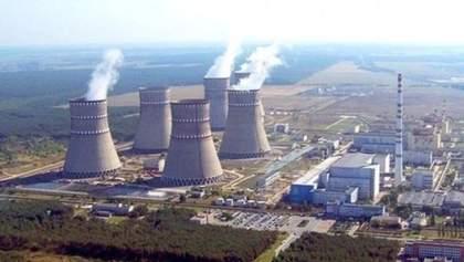 Українські АЕС виробляють рекордно мало енергії за останні 5 років