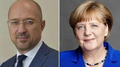Первые виртуальные переговоры между Меркель и Шмыгалем: что пообещала канцлер ФРГ