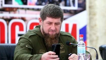 Кадиров залишився без інстаграму: його акаунт видалили