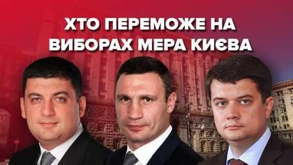 Вибори мера Києва: головні інтриги і шанси кандидатів