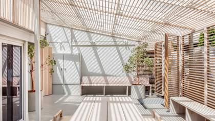 Інтер'єри з кедра та евкаліпта: фото екологічного спа-центру в Австралії