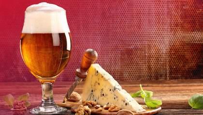 Як правильно поєднати пиво та сир: інфографіка