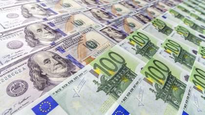 Курс валют на 15 травня: євро упав за межі 29 гривень, долар знову втратив у ціні