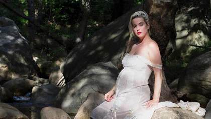 Кэти Перри на последних месяцах беременности снялась в нежном видеоклипе