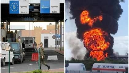 Главные новости 15 мая: новая дата открытия украинских границ, взрыв на химзаводе в Венеции