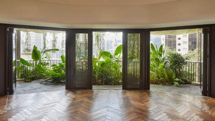 Джунглі за вікном – нестандартний проєкт будинку в урбаністичній частині Сінгапуру: фото