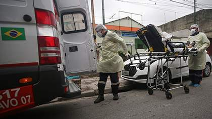 Там не вірять у COVID-19: Бразилія вийшла на четверте місце в світі за кількістю хворих