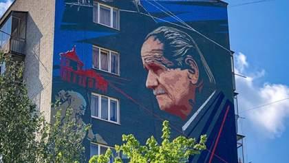 У Львові відкрили мурал, присвячений Борису Возницькому: яскраві фото
