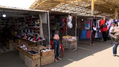 Як працюють непродовольчі ринки під час карантину: фото, відео