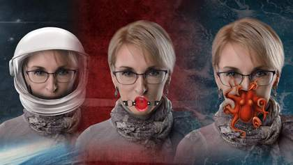 Защитные маски для Богуцкой: забавные альтернативы