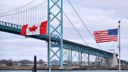 США і Канада ще не скоро відкриють спільний кордон