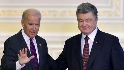 """""""Полностью отредактированы"""": у Байдена прокомментировали """"пленки Порошенко"""""""