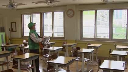 У Південній Кореї відновили навчання: відео, як підготували школи