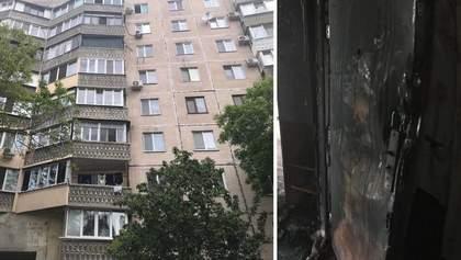 Смертельна пожежа в Одесі: жінка випала з балкону та загинула – відео