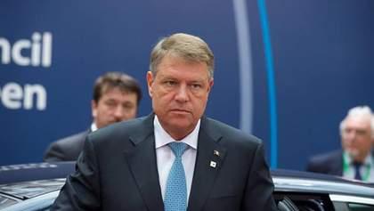 Висміяв угорську мову: президента Румунії Йоганніса оштрафували на тисячу євро