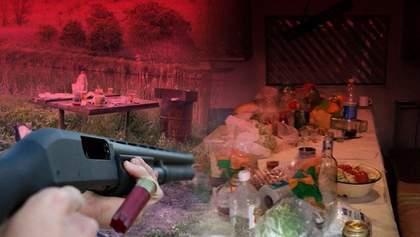 Чоловік жорстоко розстріляв 7 друзів на Житомирщині: останні новини