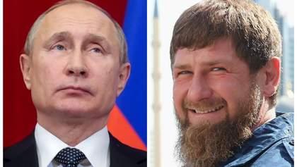 У Путіна серйозні проблеми – Кадирова підкосив коронавірус