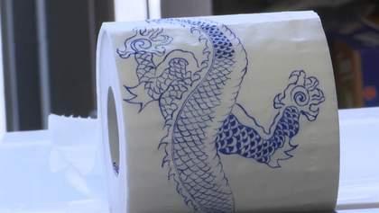 Художница создает шедевры на туалетной бумаге: удивительные фото