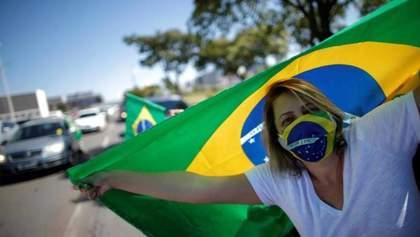 Бразилия обошла Россию и вышла на второе место в мире по количеству инфицированных коронавирусом