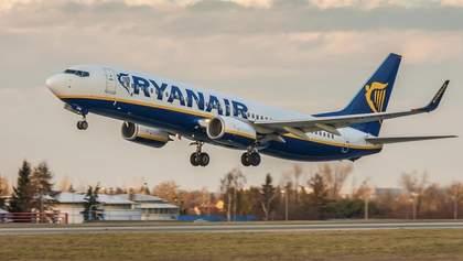 Ryanair відновить половину маршрутів з України: список