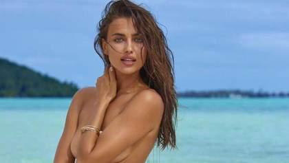 Ірина Шейк позувала в рекламній кампанії нижньої білизни: еротичні фото