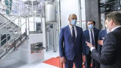 Денис Шмигаль та Максим Степанов відвідали завод-фракціонатор Biopharma