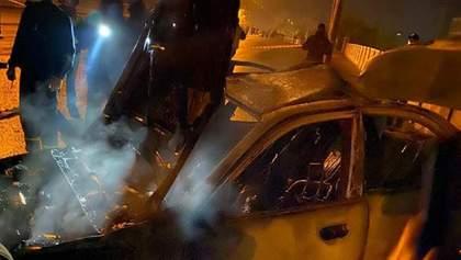 В Харькове произошла авария с полицейским авто: есть погибшие и пострадавшие – видео