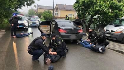 Поліція затримала підозрюваних перестрілки у Броварах: відео спецоперації