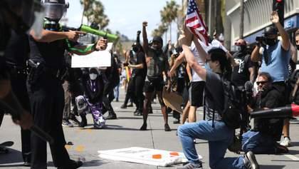 Масові протести у США: вже 25 міст запровадили комендантську годину