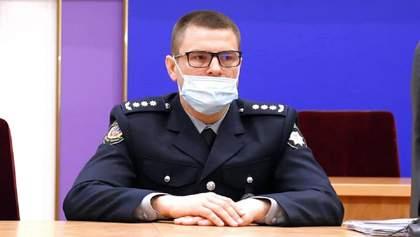 Нового голову поліції Вінниччини звинувачують у сепаратизмі: до нього прийшли ветерани – відео