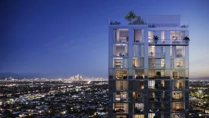 Фантастичний 31-поверховий житловий будинок на околицях  Лос-Анджелесу – фото