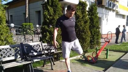 Зеленський з охоронцями пробіг у Хмельницькому 8 кілометрів та розповів, що любить їсти