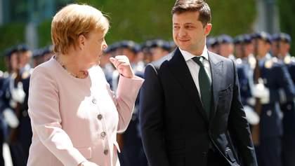 Зеленский поговорил с Меркель об агрессии на Донбассе: главные тезисы