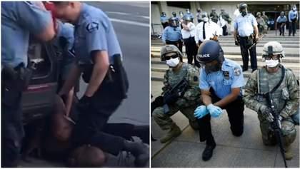 В США в городе, где умер Флойд, полиции запретят душить людей