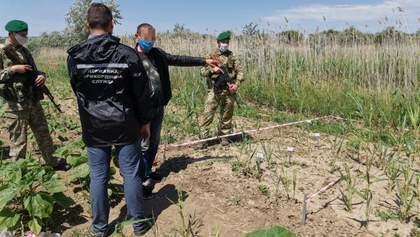 Молдованин через очерет вів наречену на оглядини в Україну: фото