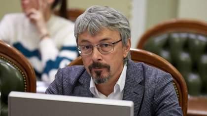 Ткаченко зустрічався з Зеленським: яку стратегію планує для Мінкульту