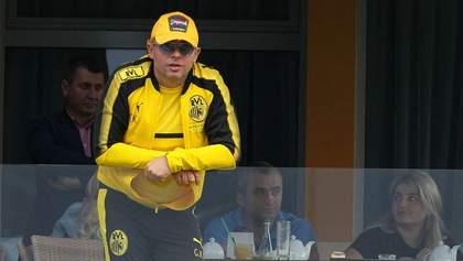 Одіозний президент футбольного клубу запропонував об'єднати чемпіонати України і Польщі