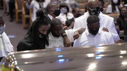Похорон Джорджа Флойда: фото та відео церемонії