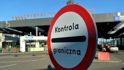 Польща відкриває кордони для мешканців ЄС з 13 червня