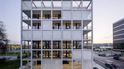 Здание, сложенное из 49 кубов: фото креативной штаб-квартиры из Австрии