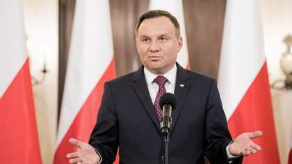 Ми не можемо залишити Україну у складній ситуації, – Дуда про агресію Росії