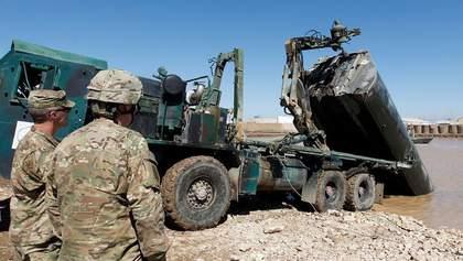 В Іраку російськими ракетами обстріляли базу із військовими США