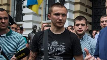 Суд у справі Стерненка: судове засідання завершилося, розпочалися нові протести