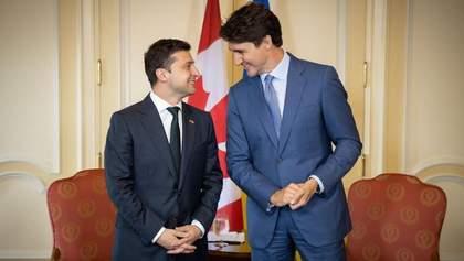 Канада може спростити візовий режим для України: подробиці розмови Зеленського і Трюдо