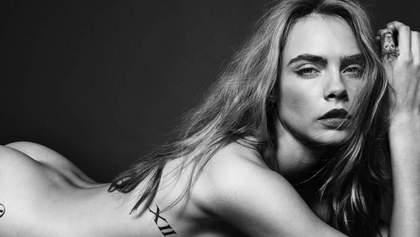 Модель, которая не боится секс-экспериментов: самые провокационные фото Кары Делевинь 18+