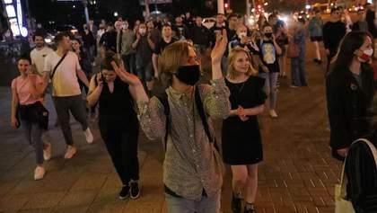У Білорусі пройшли протести через затримання опозиціонерів перед виборами: фото й відео