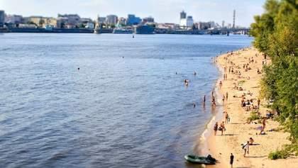 Пляжі Києва відкрили для купання
